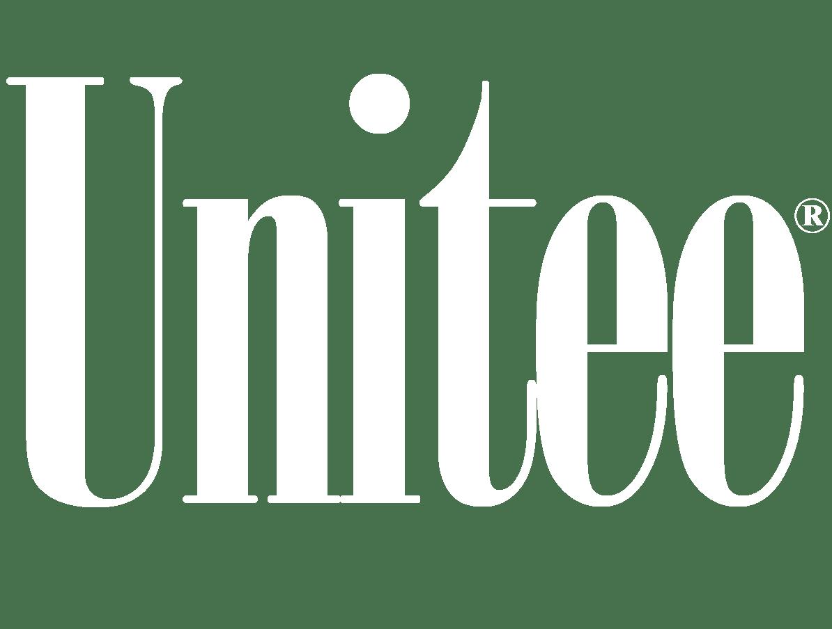 Unitee Logo Weiss